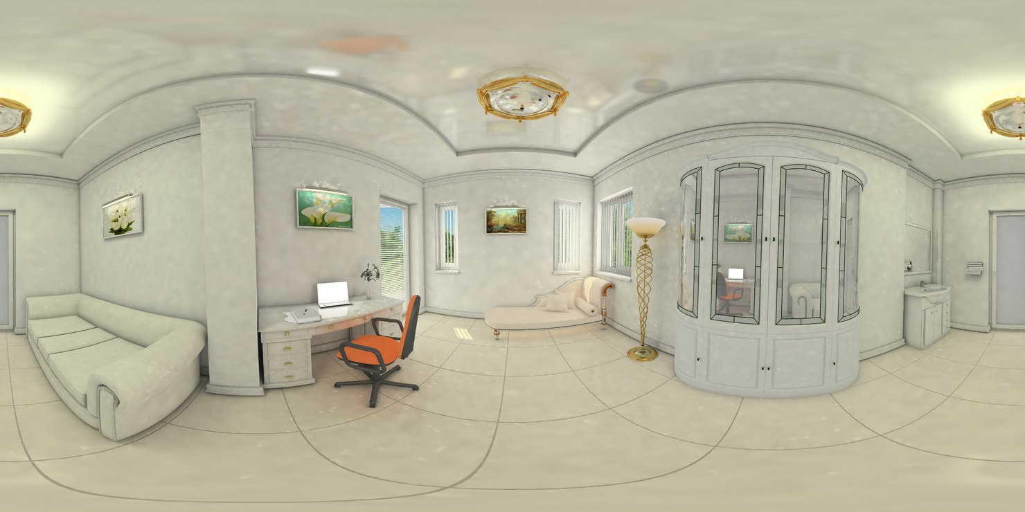 Hdr 360 3d model - Interior images ...