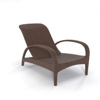 dedon tango lounge 3d model