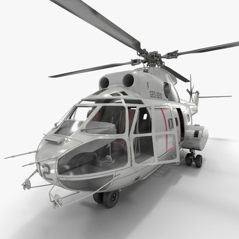 utility helicopter sa 330 max