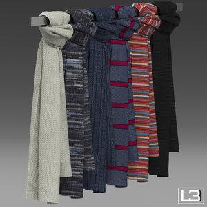 3ds max fashion foulards shop