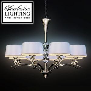 3d charleston lighting interiors chandelier