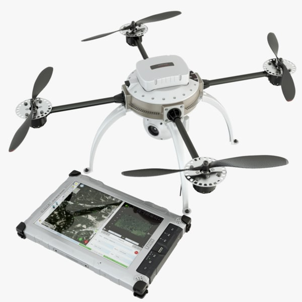 3d modelled drone model