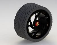 3d model rim