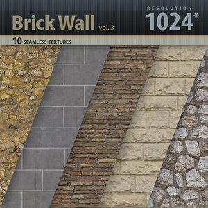 Brick Wall Textures vol.3