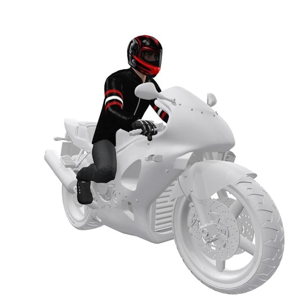 max rigged biker