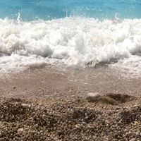 shallow foam beach water 2