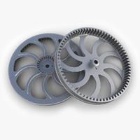 gear 24 3d model