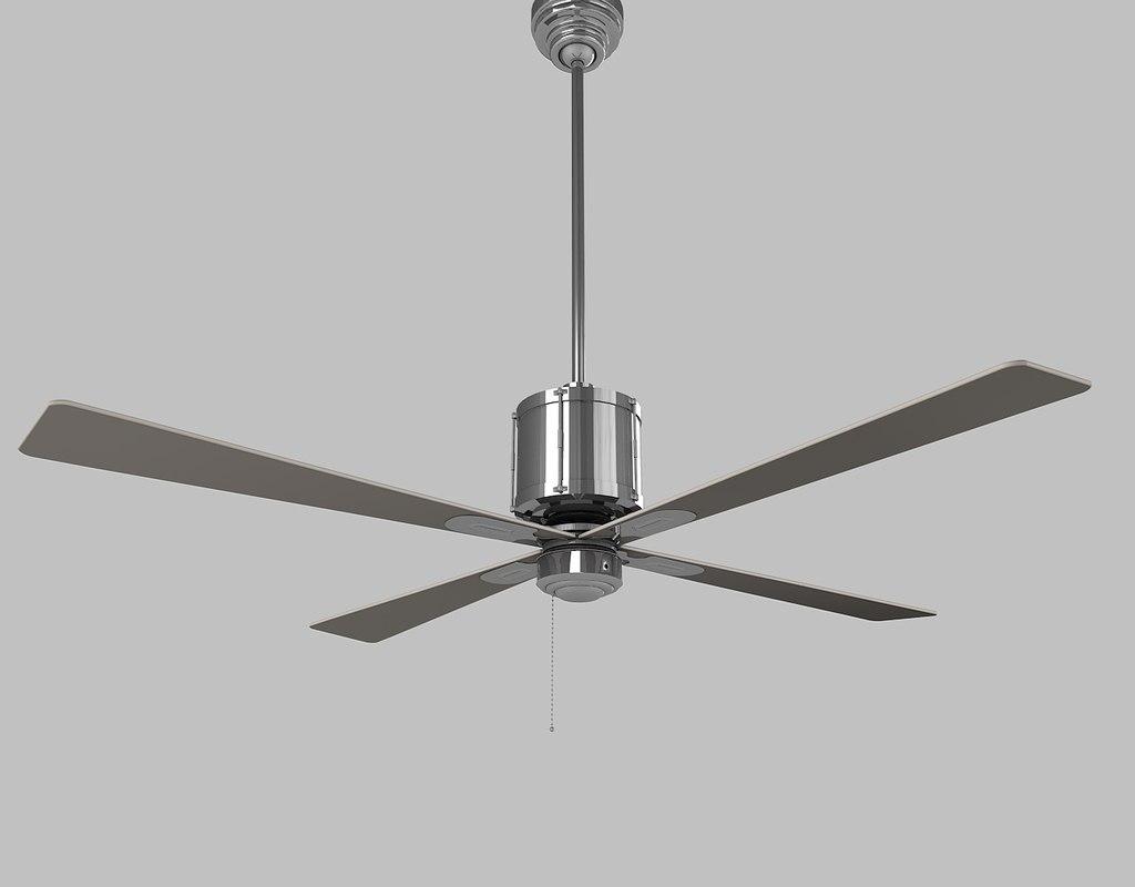 c4d ceiling fan