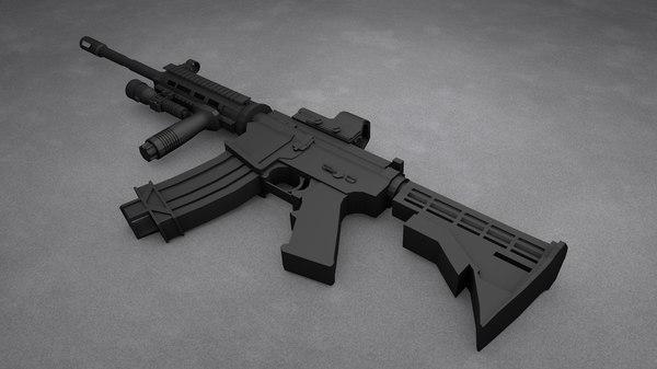 max m4a1 assault rifle
