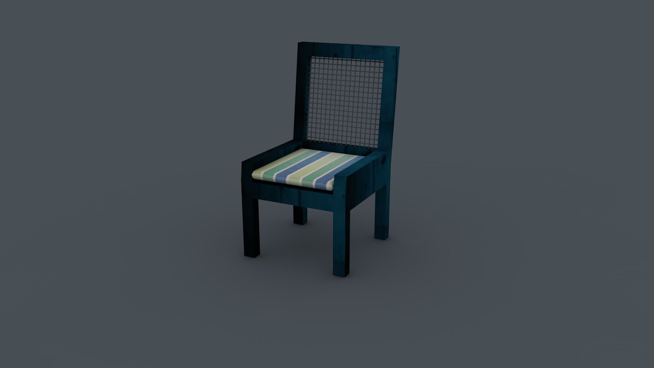 c4d chair