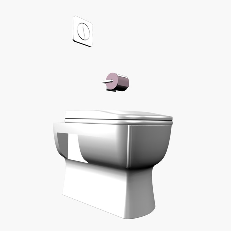3d model of bowl set