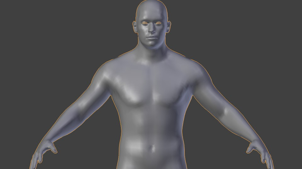 dxf basic human male nude