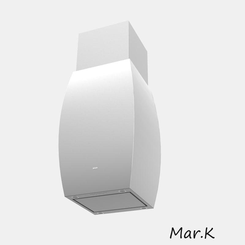 kitchen hood fpa4606 3d model