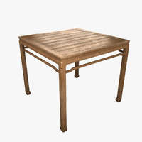 Pear Square Table