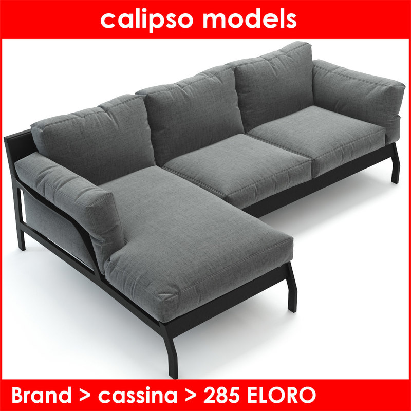 cassina rodolfo dordoni 3d model