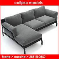 cassina rodolfo dordoni 3d model