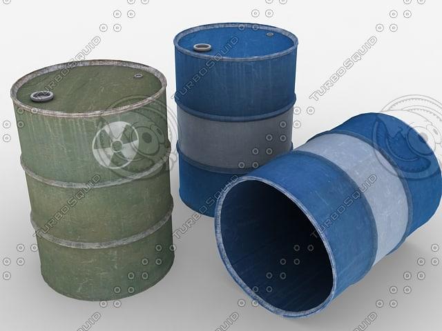 barrels 3d 3ds