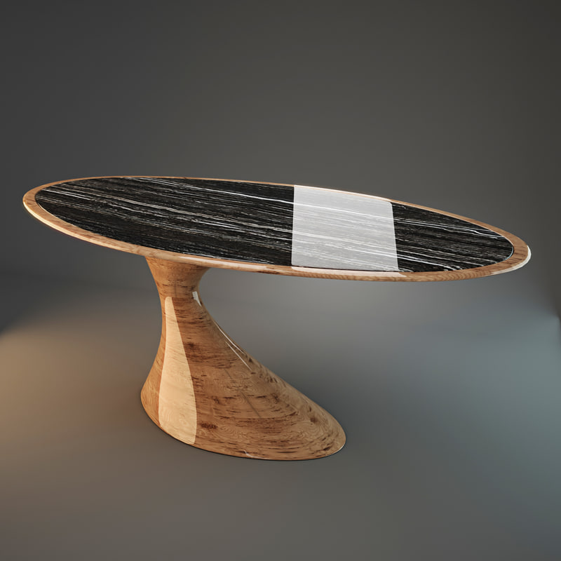 3d annibale colombo dining table