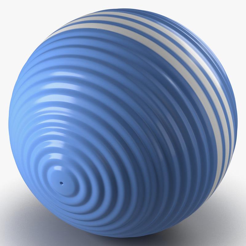 3d model of croquet ball
