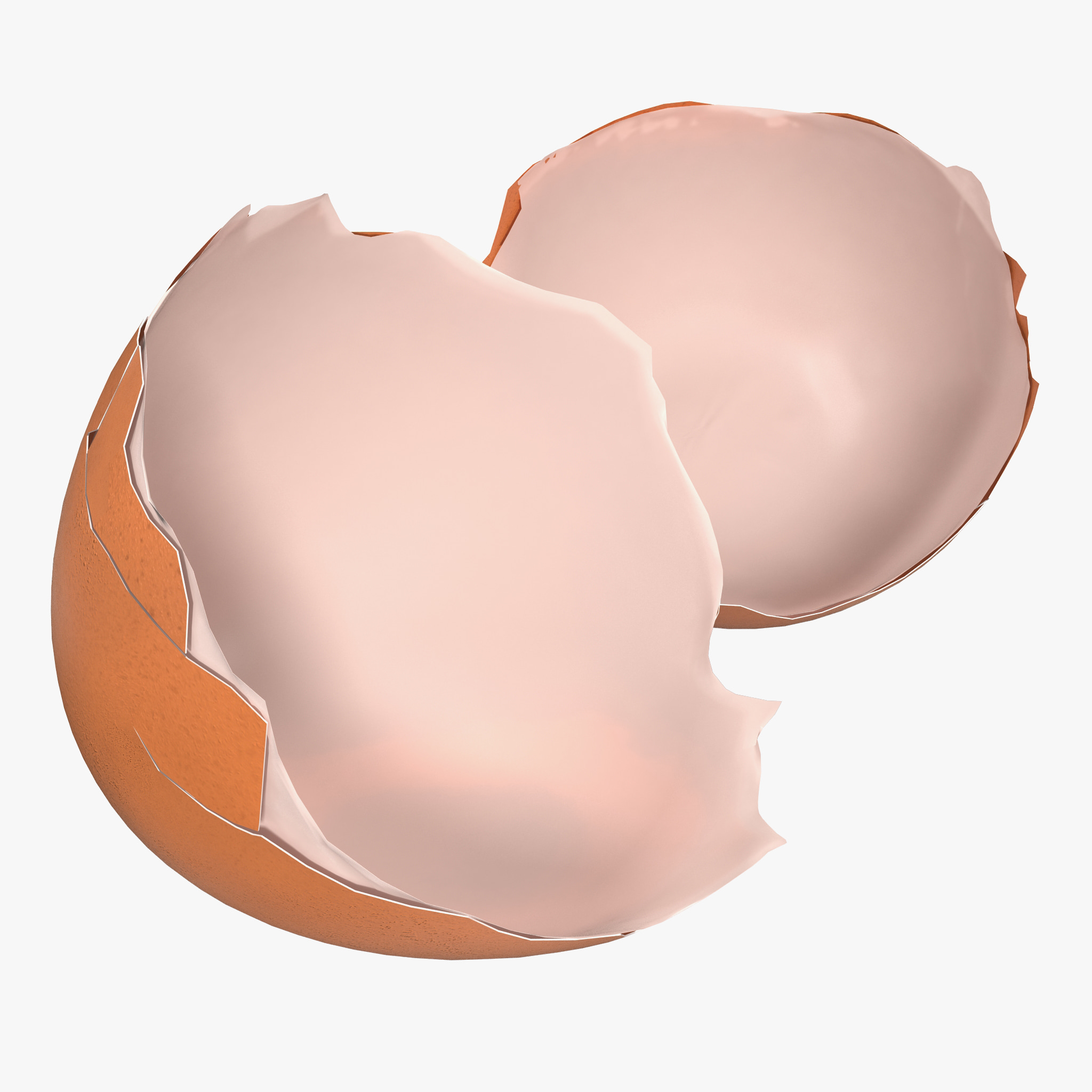 3ds max egg shell