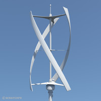 3d virticle axis wind turbine