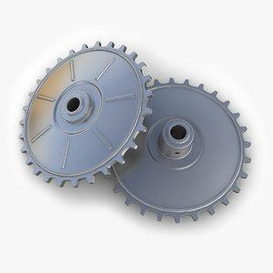 gear 25 3d model