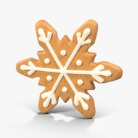 Gingerbread Cookie Snow