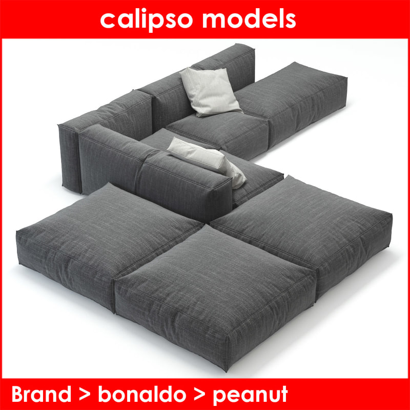 3d peanut b bonaldo sofa
