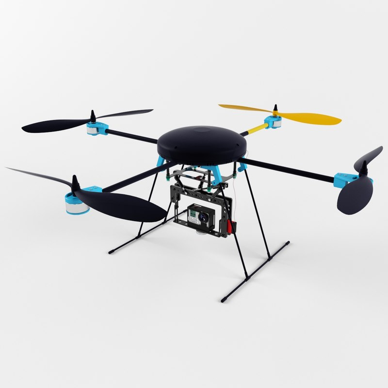 3d lotusrc t580 quadcopter