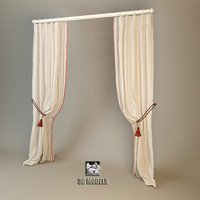 3d curtains contemporary