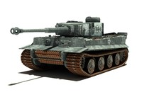 Tank PzVI Tiger AusfH1