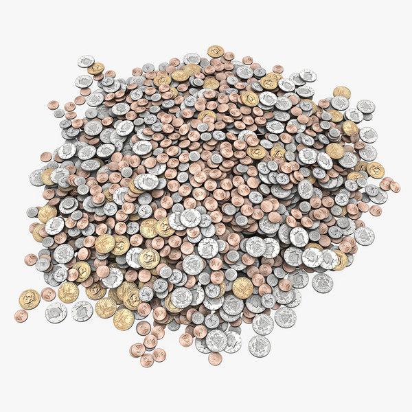 3ds max pile money