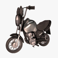 Honda CG Fan Toon Bike
