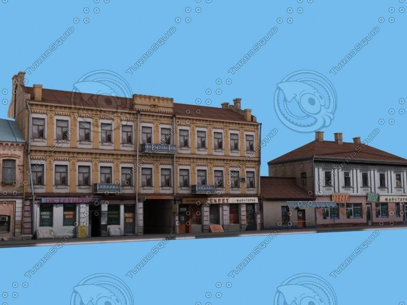 3d kyiv street