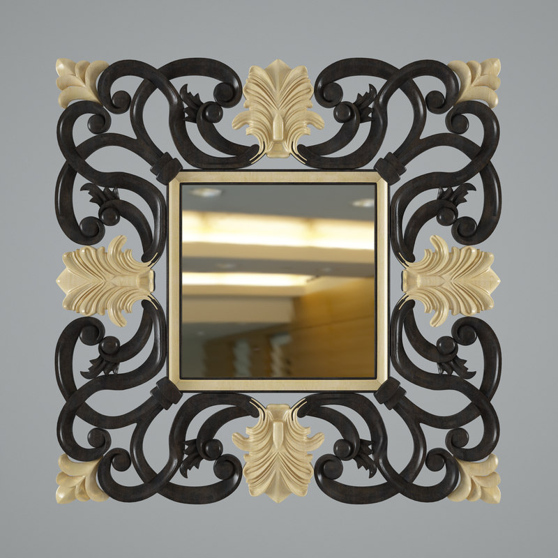 3d model nabucco devon mirror