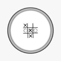 Clothing Button Tic Tac Toe