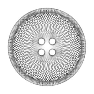button triangle 3d model