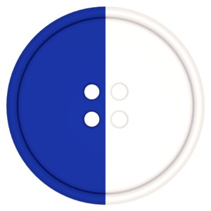 free clothing button halves 3d model