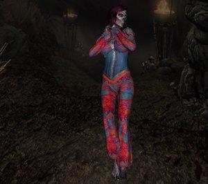 maya vampire woman