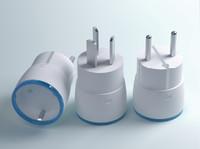 3d plug adaptor model