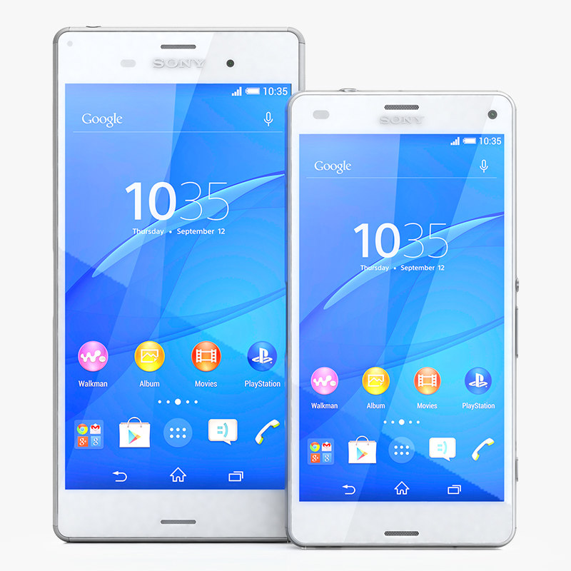 3d sony xperia z3 compact