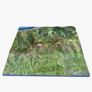 sicily terrain obj
