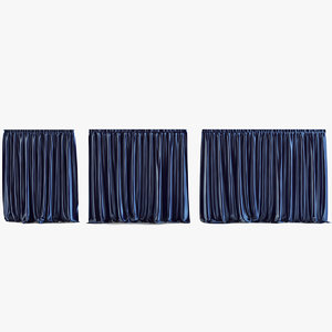 3ds curtains v-ray tulle