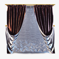 curtains 10 3d 3ds