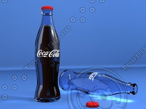 3ds max coca cola bottle