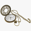 pocket watch 3D models