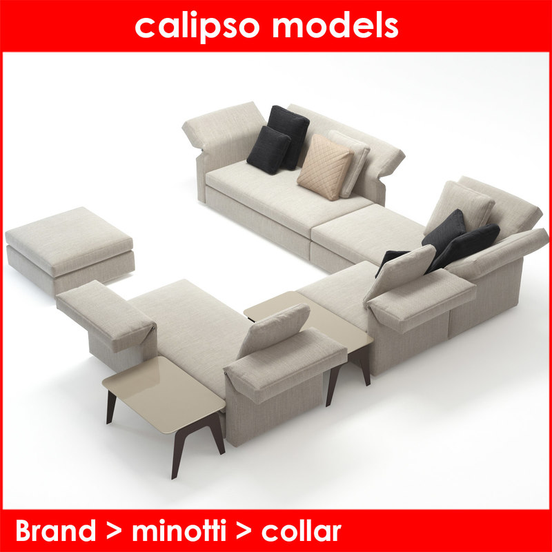 3d model category minotti collar