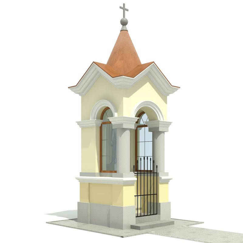 small chapel dwg