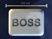 3d boss mold hand