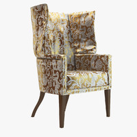 3ds max angelo chair donghia armchair
